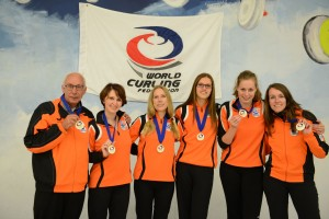 Nederlandse dames Europees Kampioen C 2014